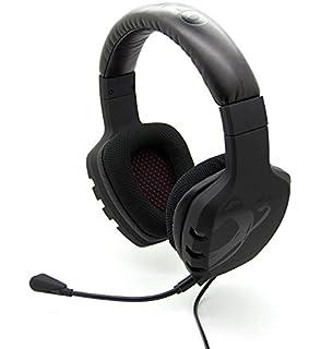 Ozone Rage ST - Auriculares de diadema cerrados (con micrófono), negro