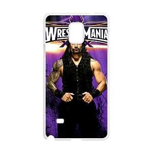 Samsung Galaxy Note 4 Cell Phone Case White WWE hdzo