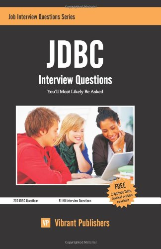 JDBC Interview Questions You'll Most Likely Be Asked