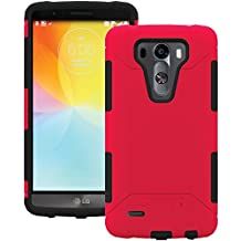 Trident Case Aegis Series Case for LG G3 - Retail Packaging - Red