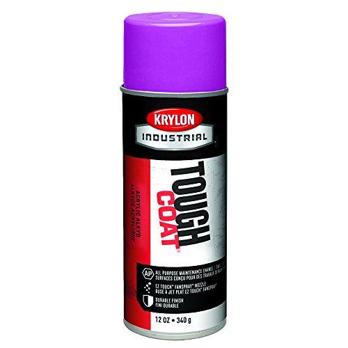 Krylon A01580 16-Oz Osha Purple Tough Coat Acrylic Enamel, 16 Oz (Pack of 12)