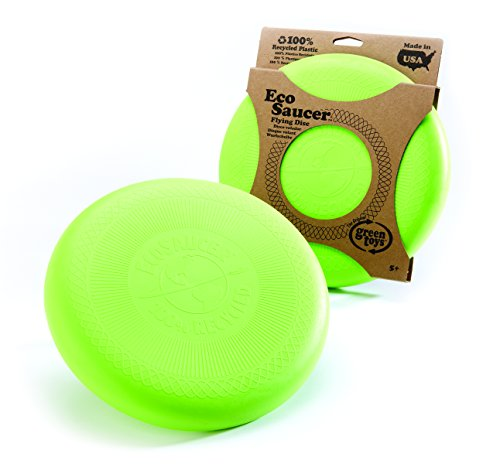 Green Toys EcoSaucer Flying Disc (Frisbee Recycled)