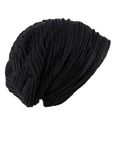 calavera Fever elegante Spring de negro funda Gorra diseño F gorro Slouchy Beanie Black de 1BdvAqw