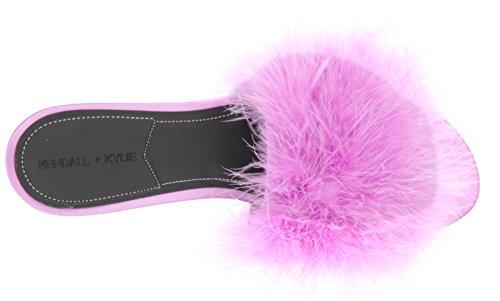 KENDALL + KYLIE Damen Chloe Slide Sandale Violett