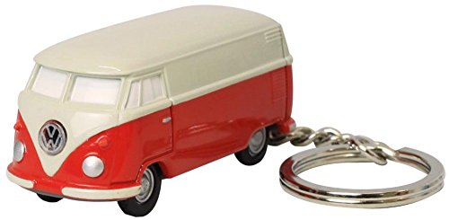 Volkswagen Type II Bus Key Chain Light, Red and (Type Key Keeper)
