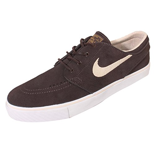 Nike Zoom Stefan Janoski Og, Zapatillas de Skateboarding para Niños Marrón (Cppccn / Snddrft-White-Mtllc Gld)