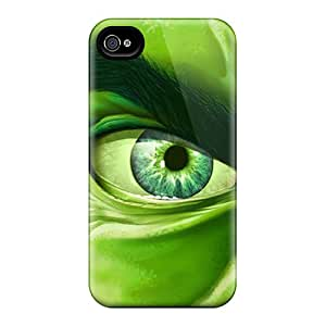 New Style Case Cover TTBlR26434HwEGv Hulk I4 Compatible With Iphone 4/4s Protection Case