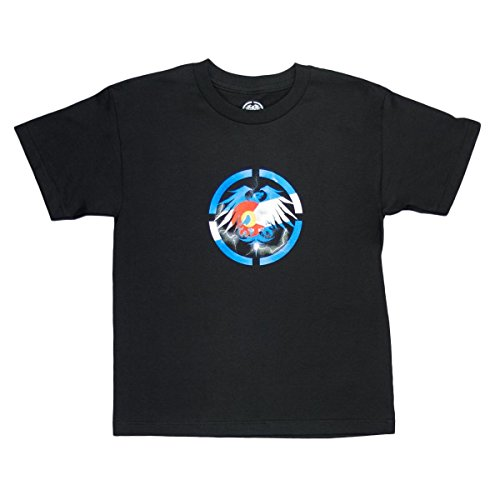 - Never Summer Boys Colorado Bolts T-Shirt Black X-Large