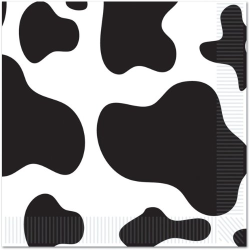 Cow Print Luncheon Napkins (2-Ply)    (16/Pkg)]()