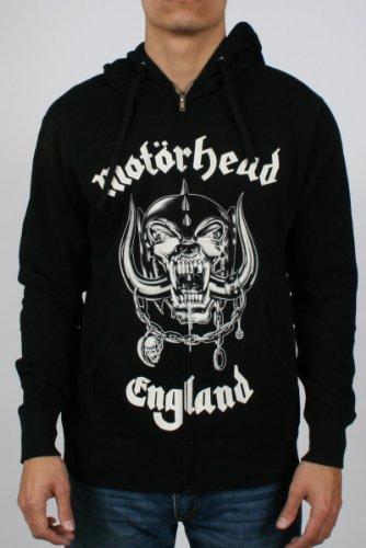 Zip Hoodie: Motorhead - England T-Shirt Size XL