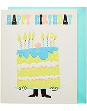 The Art File ARTIPY12 Happy Birthday Text Card
