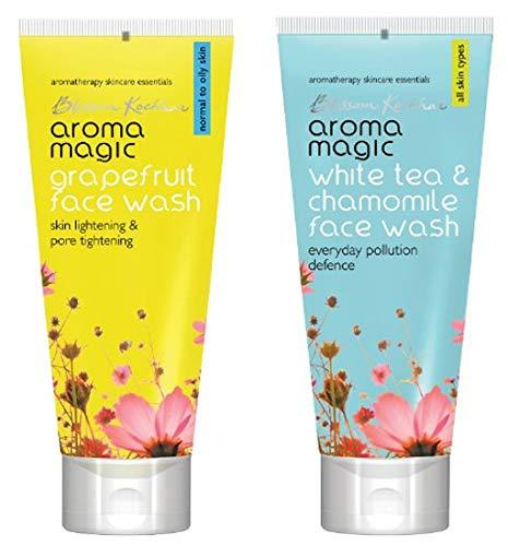Aroma Magic Face Wash 100 ml  Grapefruit  And Aroma Magic White Tea And Chamomile Face Wash, 100ml