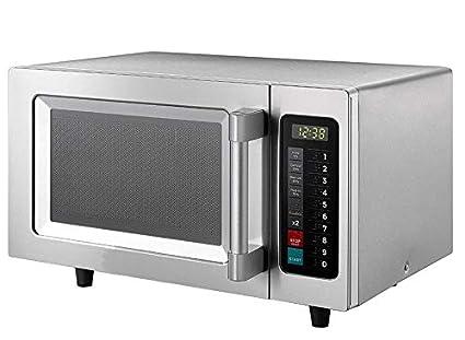 Horno de microondas para catering comercial, 1000 W, acero ...