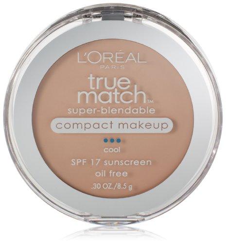 L'Oreal Paris True Match Super-Blendable Compact Makeup, Natural Ivory, 0.30 Ounces