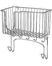Decoe Wall-Mounted Ironing Board Holder Iron Rack Storage Basket for Holding Iron and Ironing Board