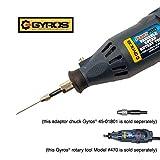 Gyros Carbon Steel Wire Gauge Drill Bit 20 Piece