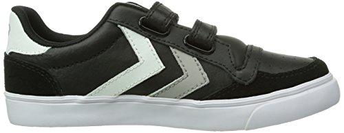Hummel - Zapatillas para niño negro negro negro - Schwarz (Black/White/Grey 2072)