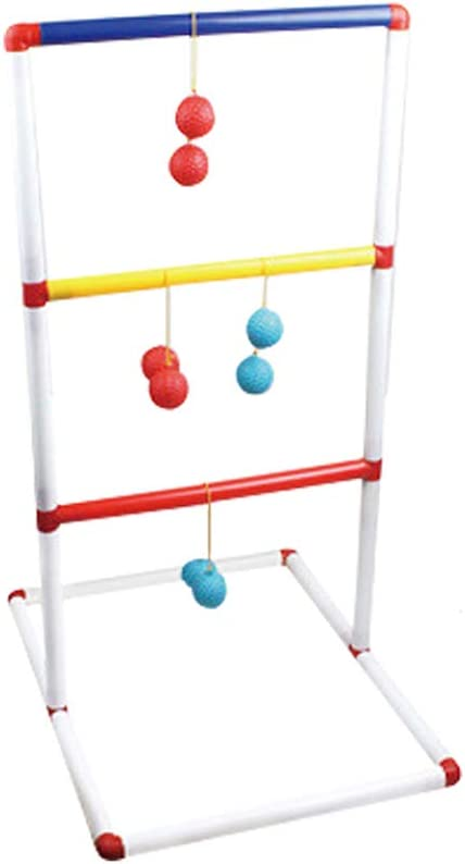 alokie Escalera Pelota de Golf Toss Juego Lanzamiento Parte, Ladder Golf Ideal para Camping Juego 6 Pares Pack, Escalera de Pelota de Golf: Amazon.es: Deportes y aire libre
