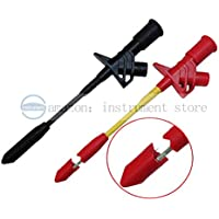 Heavy Duty Insulation Piercing Test Clip, Fully Insulated Quick Piercing Test Clips Multimeter Test Probe Spring Load