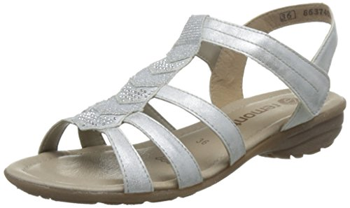 Remonte Women Sandals silver, (ice/silver) B01LE7NOH8 R3637-80 B01LE7NOH8 (ice/silver) Shoes 6c28fd