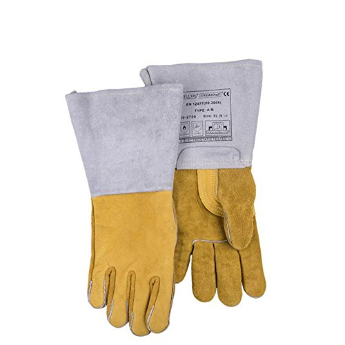 Multifunctional welders welding gloves fire wire wear - resistant flame - retardant breathable anti - cutting gloves security supplies by LIXIANG (Image #5)