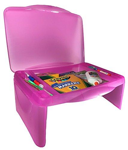 Kids Folding Lap Desk Pink product image