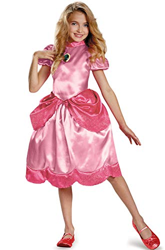 Nintendo Super Mario Brothers Princess Peach Classic Girls Costume, Medium/7-8 ()