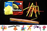 Qualatex 260Q Pencil Balloons - Traditional Assortment - 100/bag