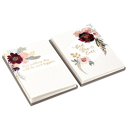 (Hallmark Bridesmaid Proposal and Wedding Party Thank You Card Set (20 Cards with Envelopes, Floral))