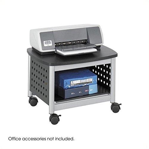 Scranton and Co Under-Desk Printer Stand in Black by Scranton & Co