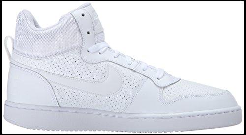 Nike Court Borough Mid, Zapatillas para Hombre Blanco (Blanco Aa)