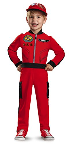 Disguise Disney's Planes Dusty Classic Toddler Costume, Medium/3T-4T]()