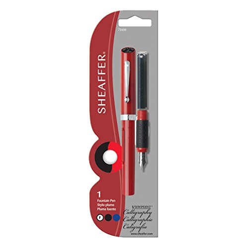 Sheaffer Viewpoint Calligraphy Pen Red Carded With 2