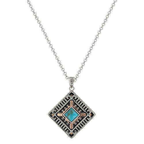 - Montana Silversmiths Southwestern Paces Turquoise Necklace