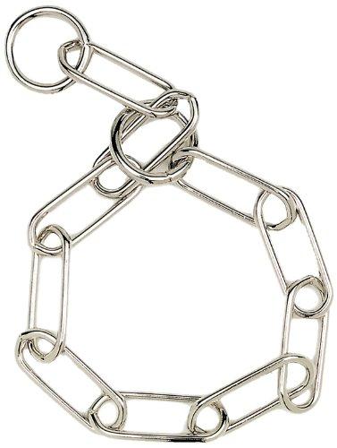 HERM SPRENGER Fur Saver Link Dog Chain Training Collar, 4.0 mm x 23