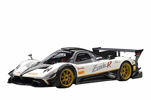 AUTOart 1/18 Pagani Zonda Revolution (carbon black, used for sale  Delivered anywhere in USA