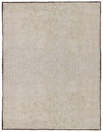 Cala Living Alfombra Lavable con Ribete, Algodón, Beige y Berenjena, 150x20x20 cm: Amazon.es: Hogar