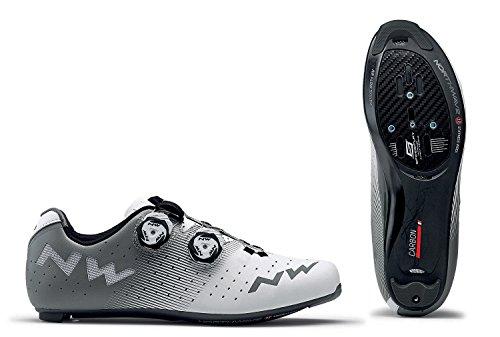 Northwave Revolution Rennrad Fahrrad Schuhe weiß/grau 2018