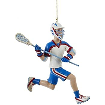 Lacrosse Christmas Ornament Sports Ornament Tree Trimming Decoration US SELLER