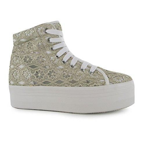 gris Blanc Homg Chaussures Jeu Plateforme Jeffrey Baskets Femmes Campbell w4ZRn0xq