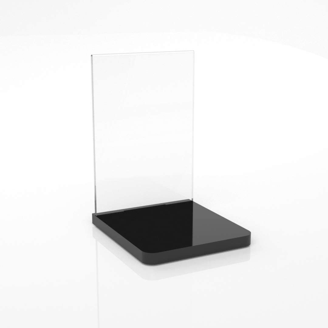 Premium Product Glorifier Unit//Counter Top Product Glorifier Display Stand Clear, A4