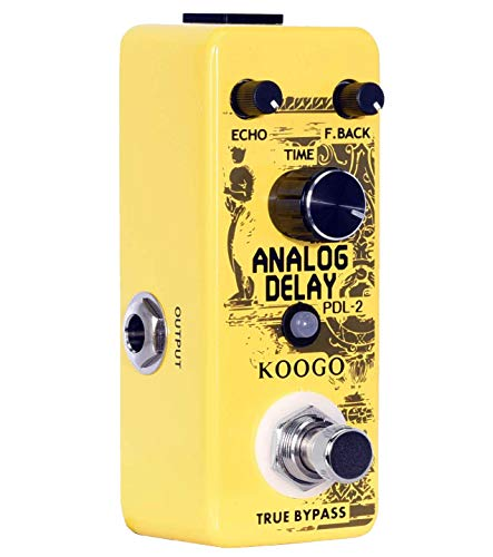 Koogo Analog Delay Pedal Delay Guitar Effect Pedal True Bypass