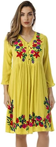 Riviera Sun Floral Embroidered Sleeve