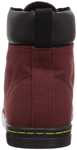Martens Martens Cherry Red Dr Maelly Boots Womens Canvas 11AxHS