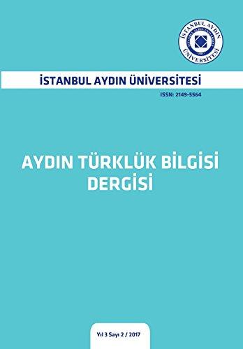 Aydin Trklk Blgs (Yl 3 Say 2) (Turkish Edition)