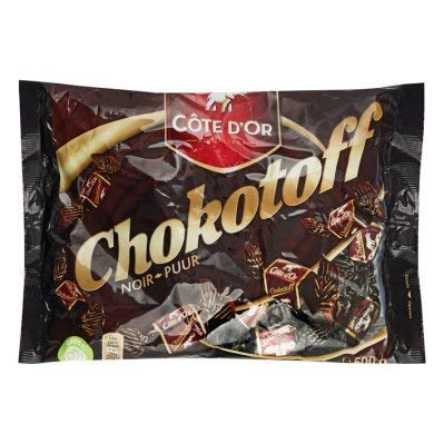 Chokotoff Cote dOr- toffees covered with delicious Belgian dark chocolate - bag of 17.6oz/500g