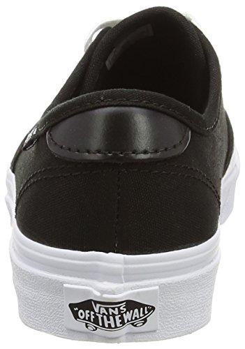 Black White Black Camden Basse Donna Nero Sneaker Canvas Vans wqU8T0S