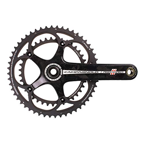 Campagnolo Record Carbon Ultra-Torque 11 Speed Double Standard 39/52 Crankset 170mm ()