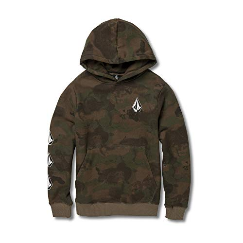 - Volcom Big Boys' Stone Pullover Fleece, Camouflage, Small