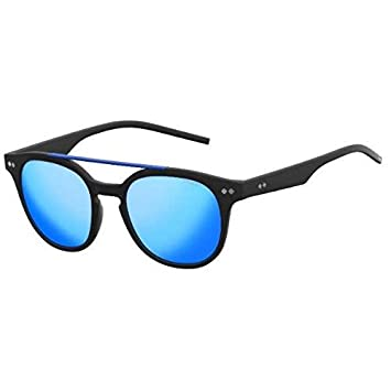 Polaroid PLD 1023/S - Lentes polarizados, policarbonato, unisex, negro, lentes gris azul marino: Amazon.es: Deportes y aire libre
